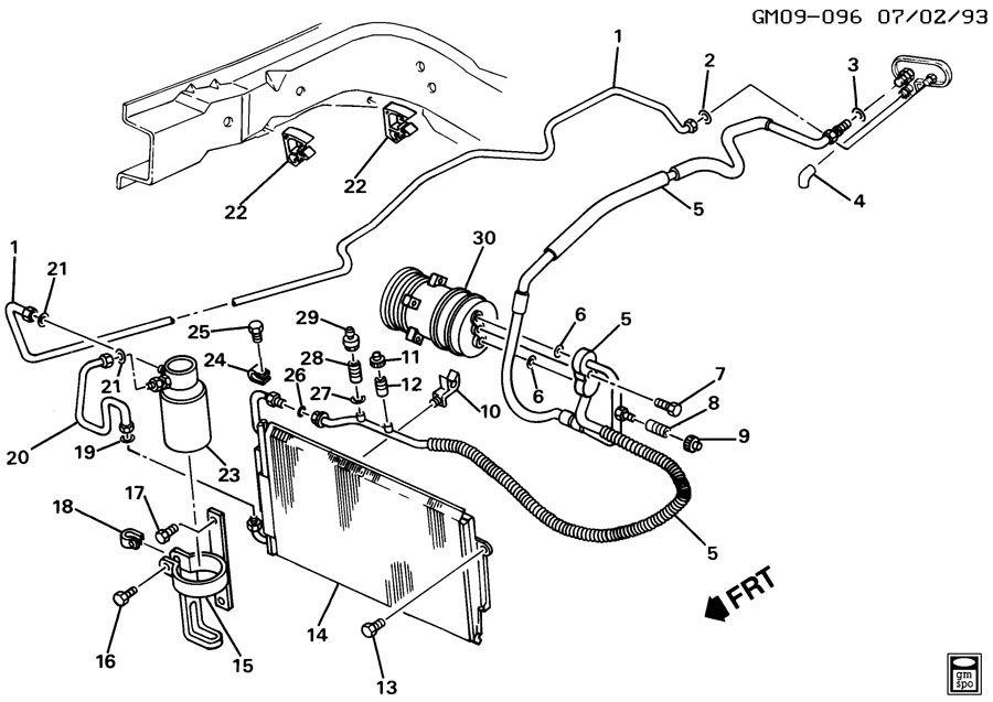 95 pontiac grand am engine diagram