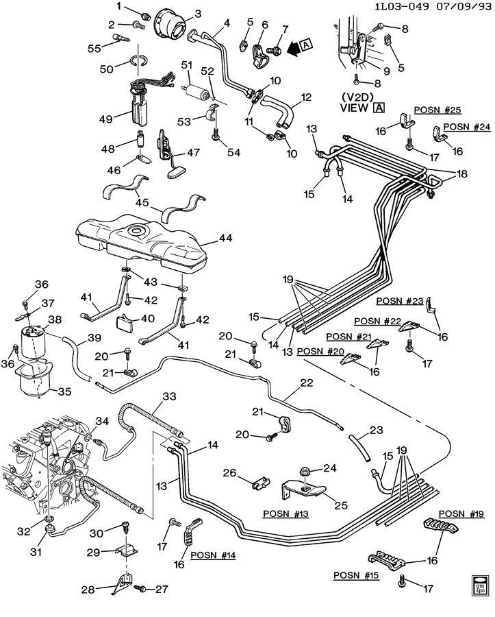93 chevy lumina engine diagram