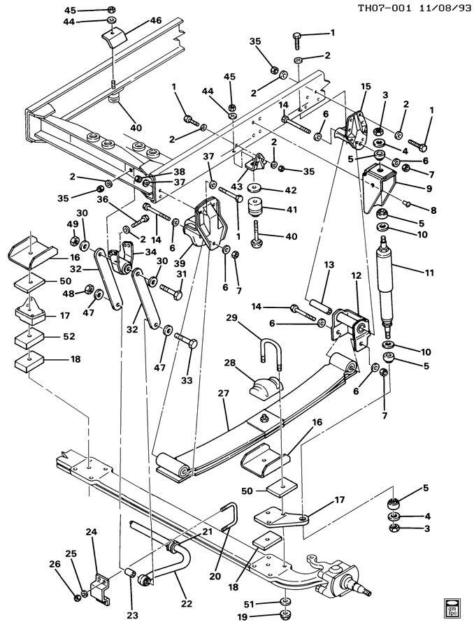 diagram of rear engine 3116