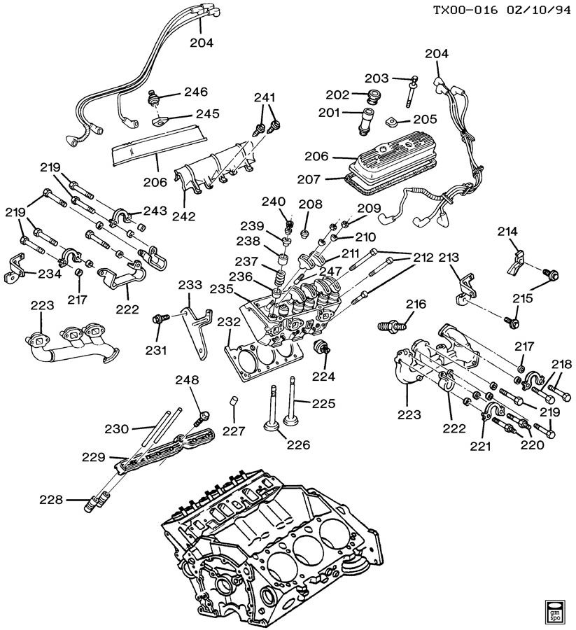 1998 silverado engine diagram  1993 chevy 1500 engine