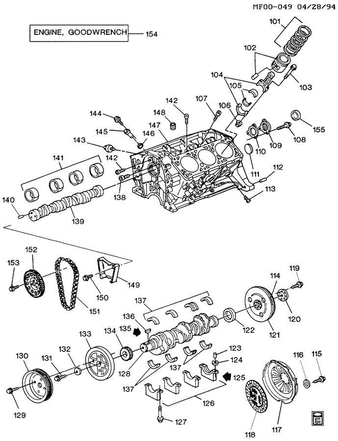 buick 3 1 engine diagram intake