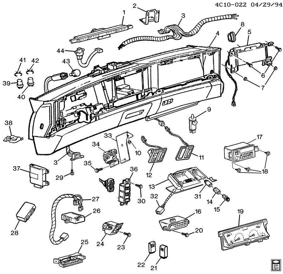 96 buick lesabre fuse diagram