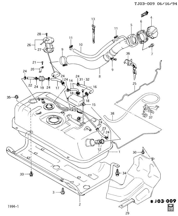 1995 geo metro engine diagram