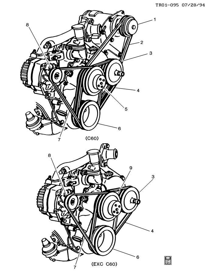 Mercruiser Serpentine Belt \u20ac  - Wiring Diagram And Fuse Box