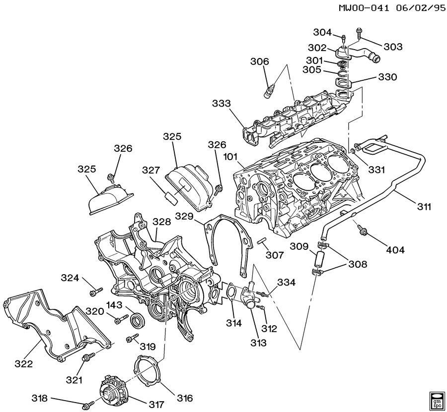 gm 3 8l engine diagram cooling system gm free engine