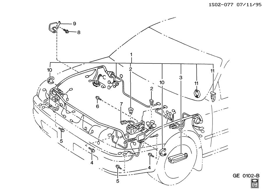 1995 toyota tercel ignition wiring diagram