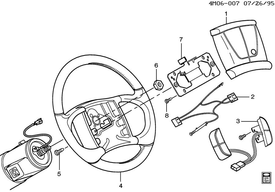 1997 buick lesabre wiring diagram for horn