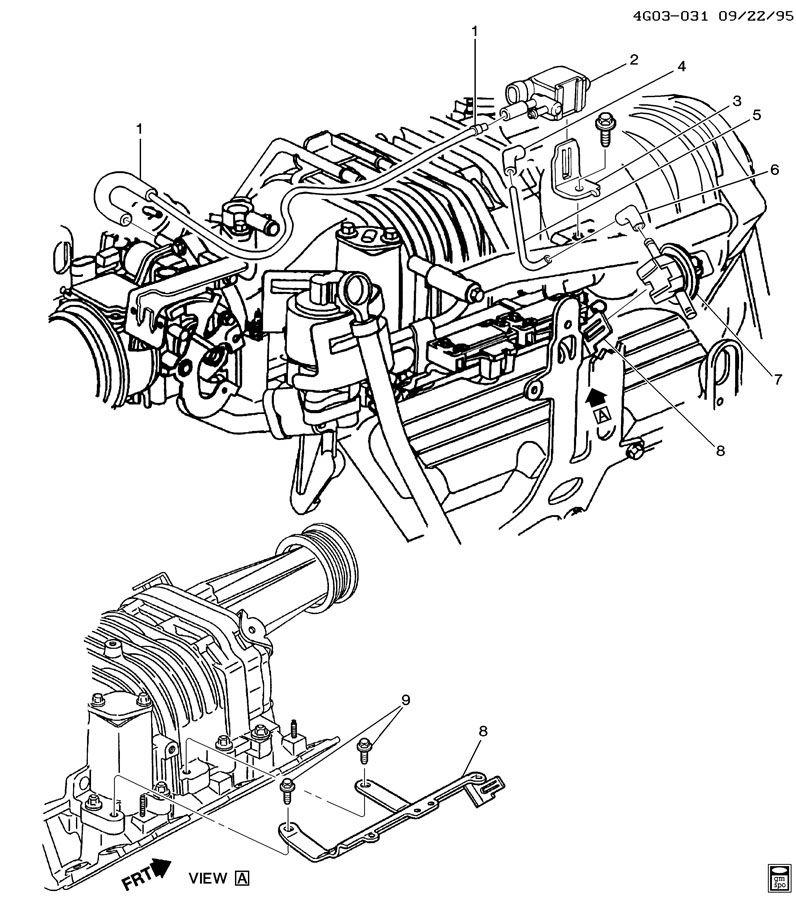 gm 3500 engine belt diagram