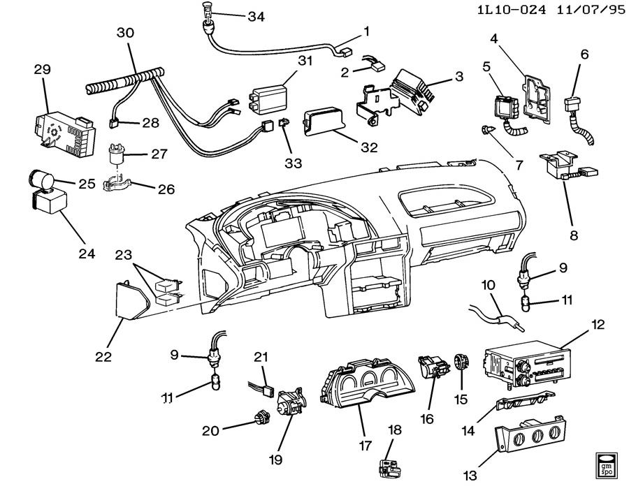 1993 honda accord cluster wiring diagram