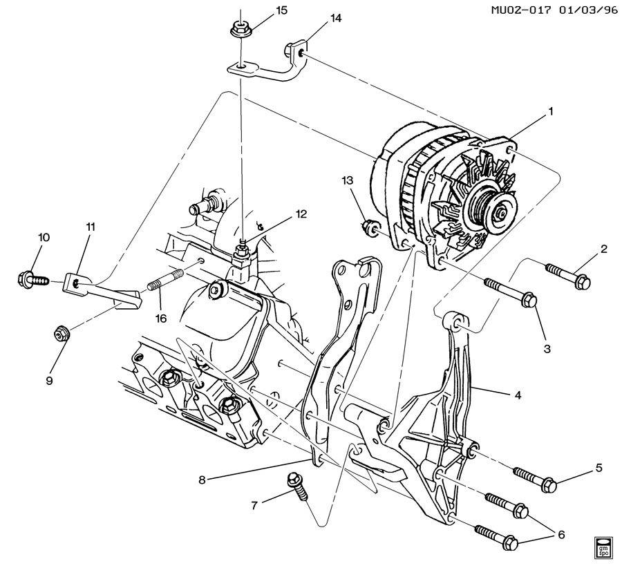 1997 pontiac transport engine diagram