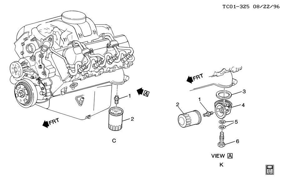 1998 chevy venture engine diagram