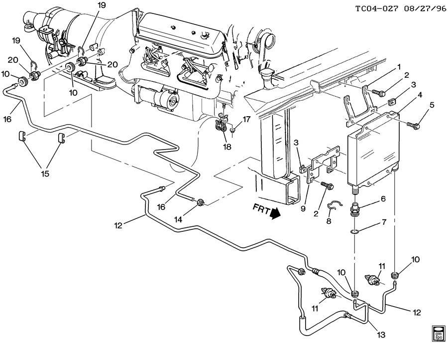 92 yukon fuse diagram