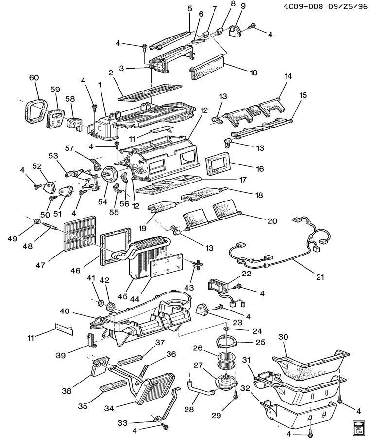 1996 buick lesabre Motor diagram