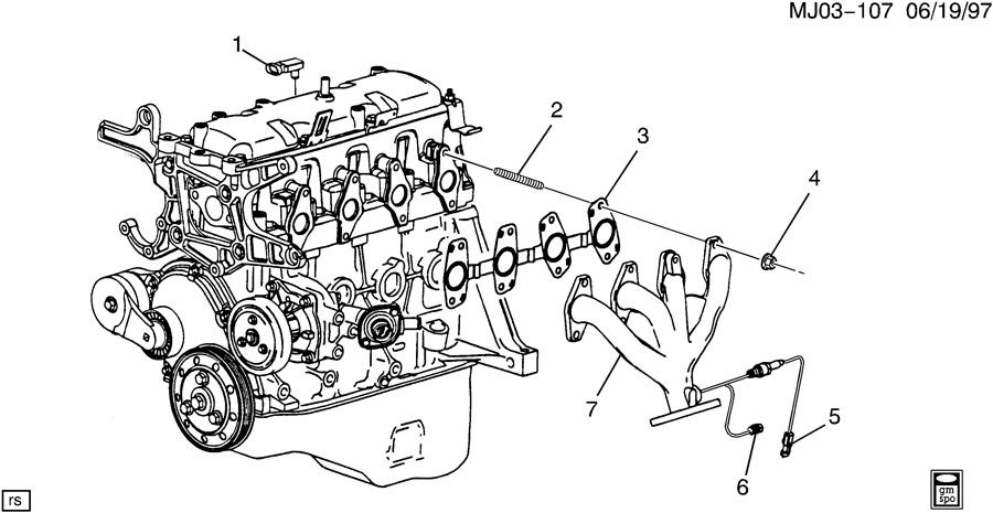 2002 gmc 4 2 engine diagram