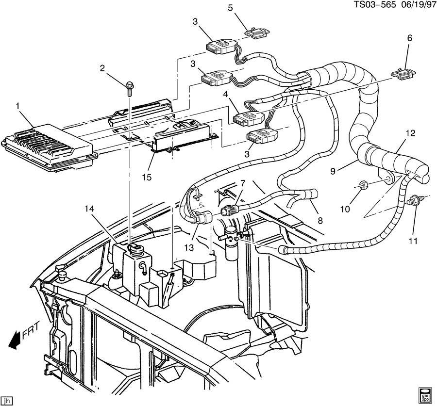 1998 gmc jimmy wiring harness