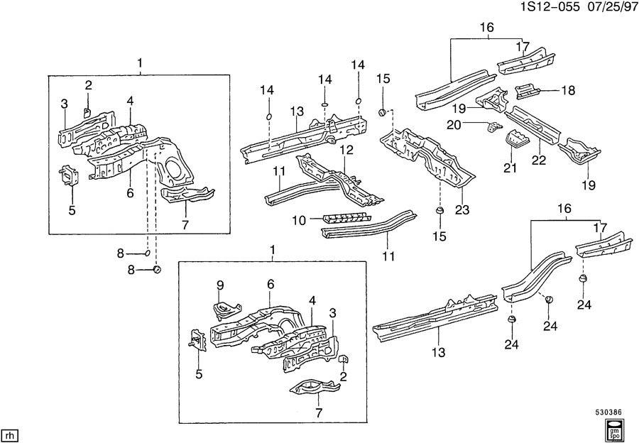 1998 suzuki sidekick engine compartment fuse box diagram