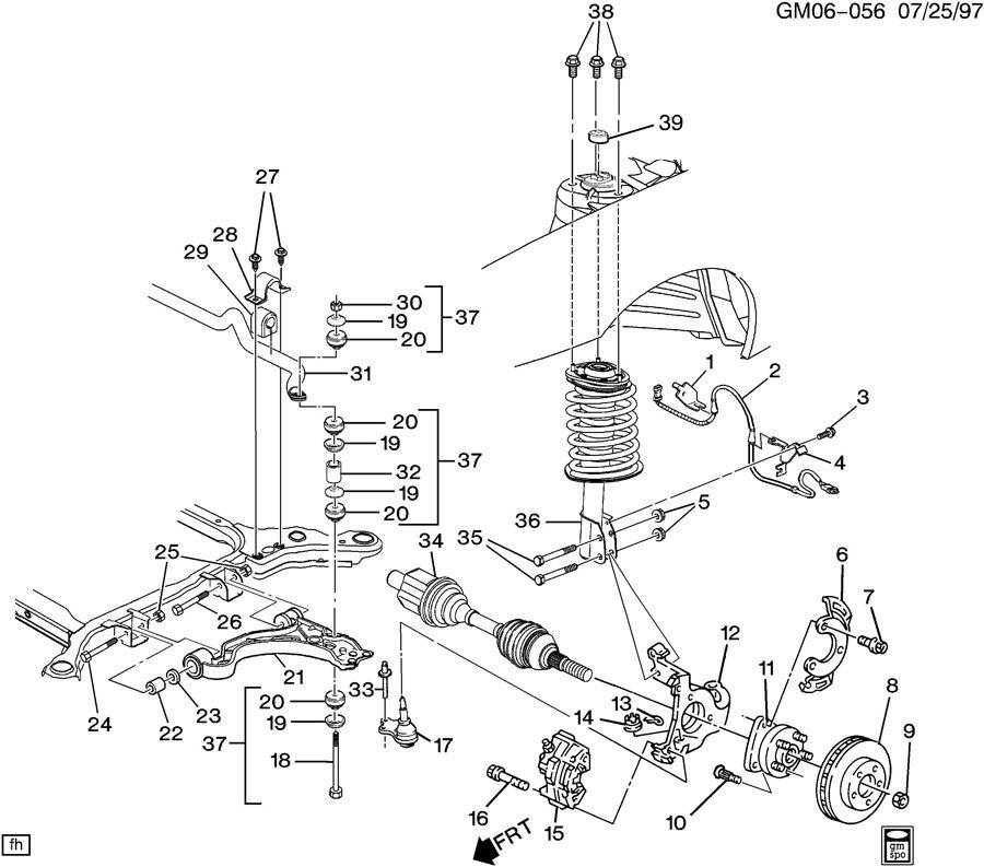 1998 buick park avenue engine diagram