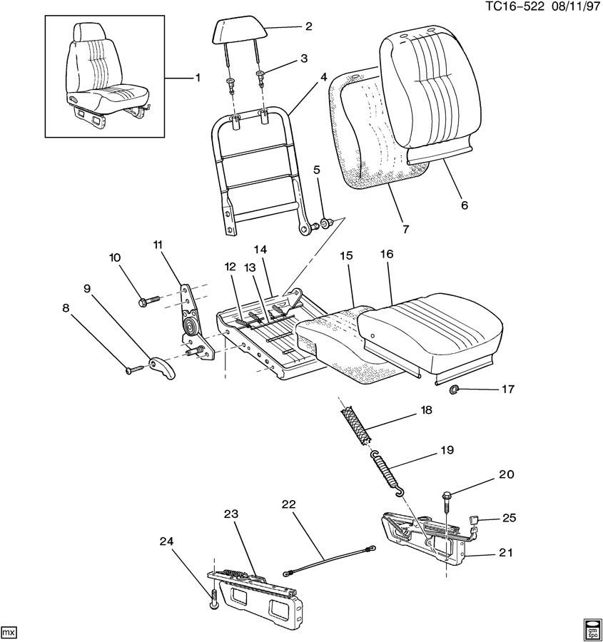 aftermarket bench seats for chevy