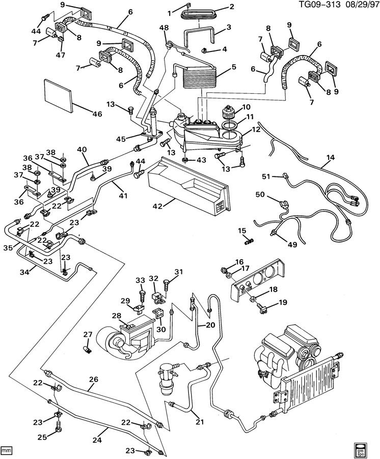 1990 gmc v6 engine diagram