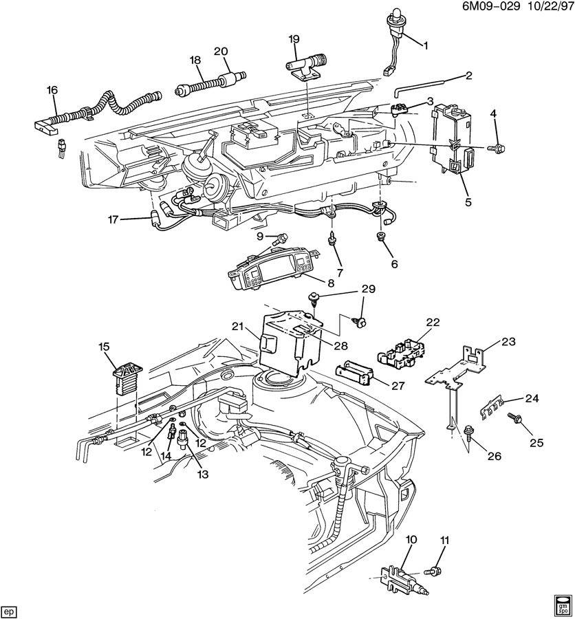 cadillac 4 9l engine diagram