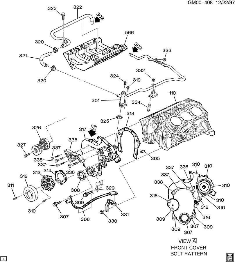 2004 pontiac sunfire 2 2 engine diagram