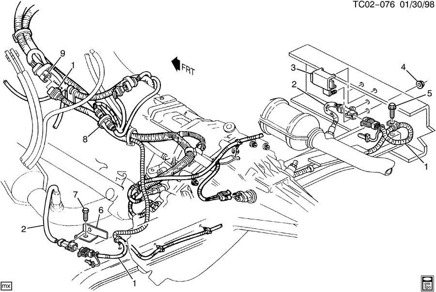 4l60e transmission wiring harness
