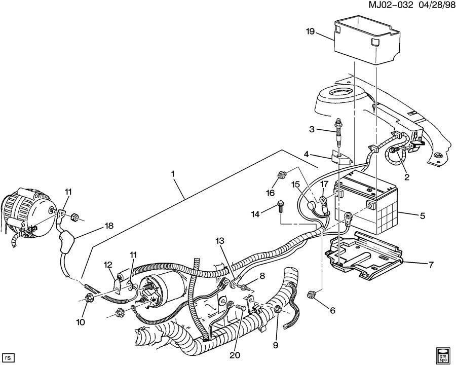 00 chevy cavalier fuel pump wiring diagram