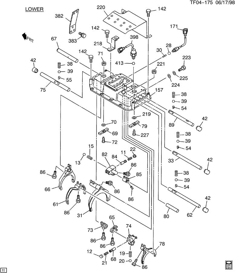 transmission wiring diagram also gmc truck electrical wiring diagrams