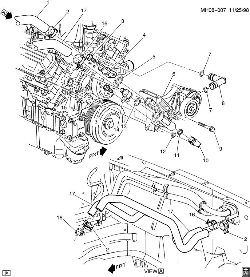 Pontiac Grand Prix 3800 V6 Engine Diagram Wiring Schematic Diagram