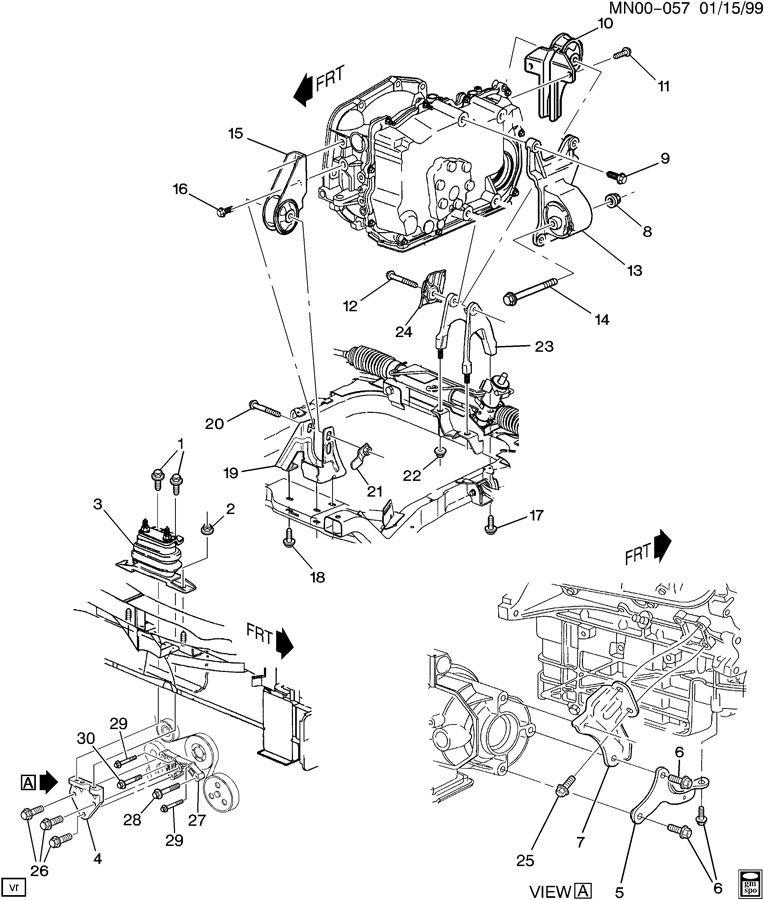 2004 alero engine diagram