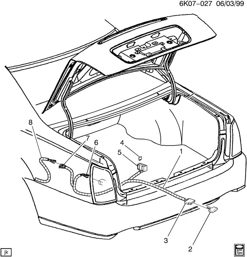 Oldsmobile Intrigue Stereo Wiring Diagram - Wiring Diagram Database