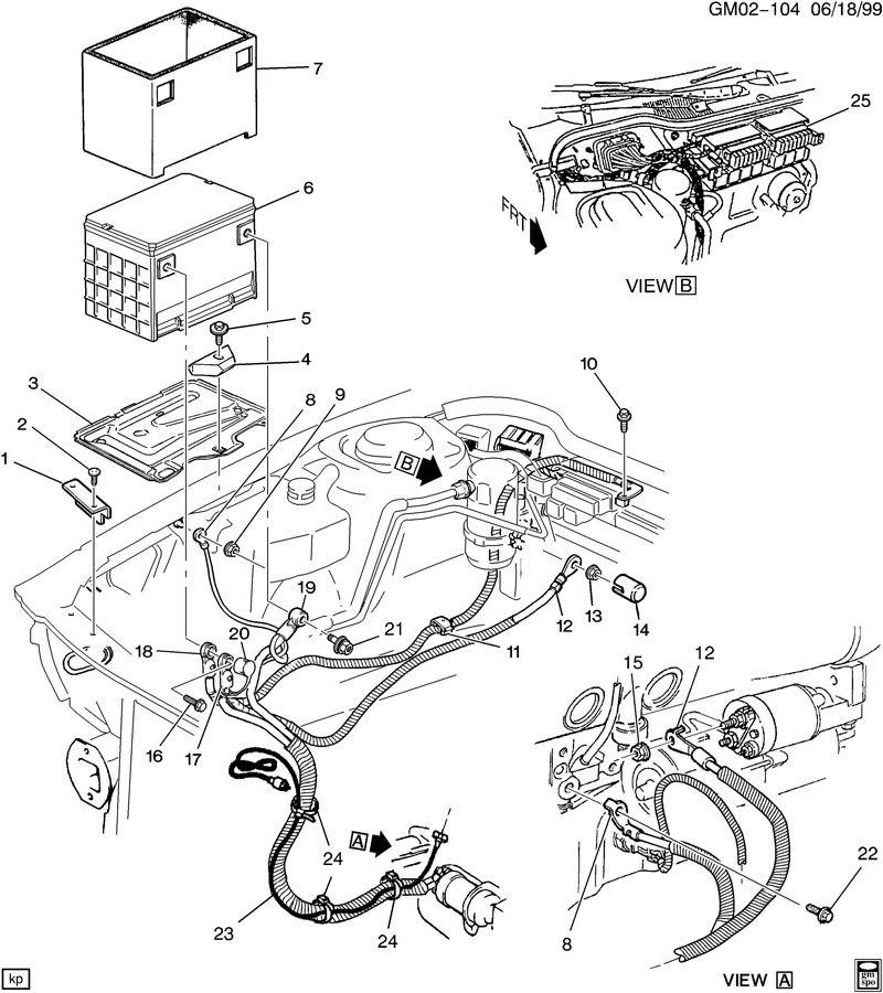 1996 buick lesabre radiator hose diagram