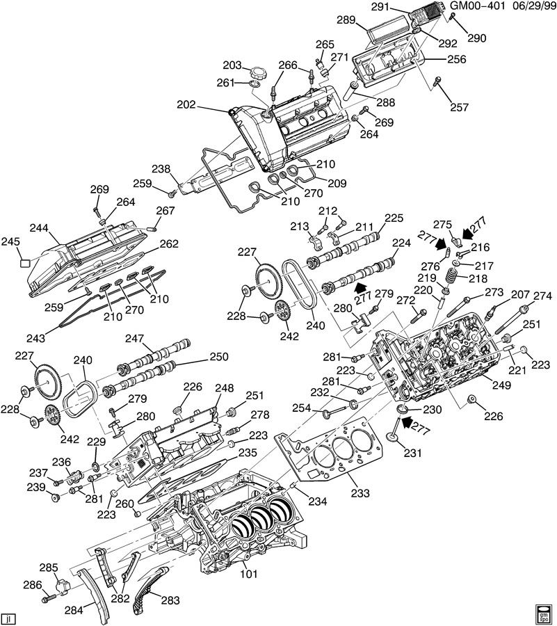 OLDSMOBILE INTRIGUE ENGINE DIAGRAM - Auto Electrical Wiring Diagram