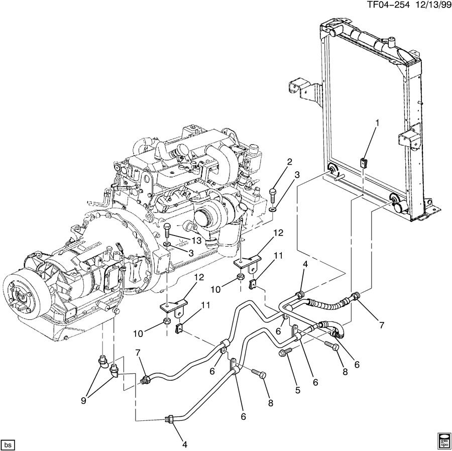 235 chevy wiring diagram