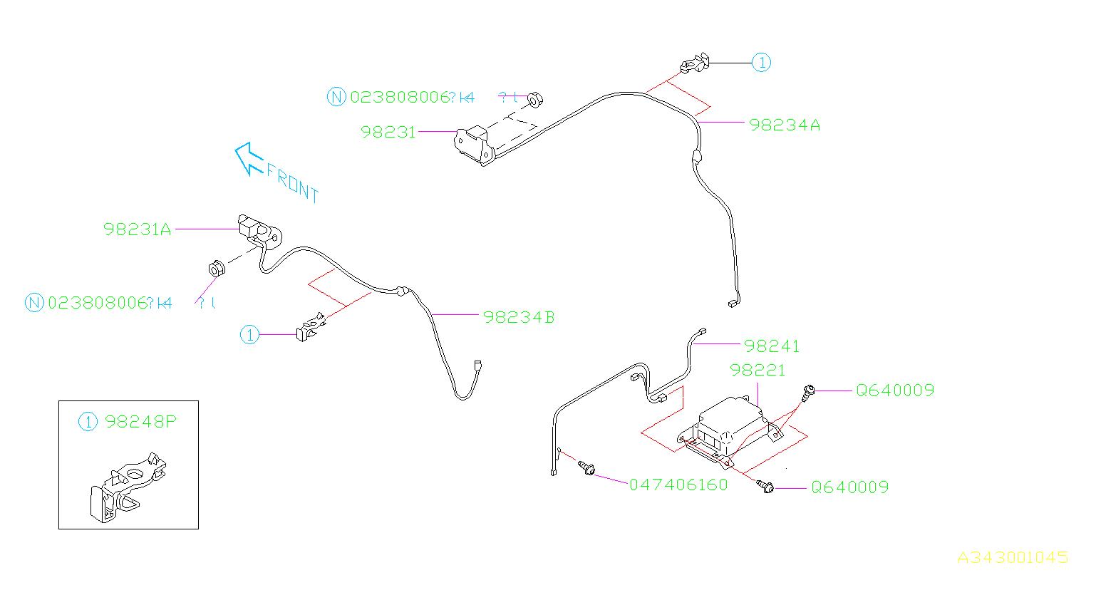 wiring diagram subaru impreza 2006