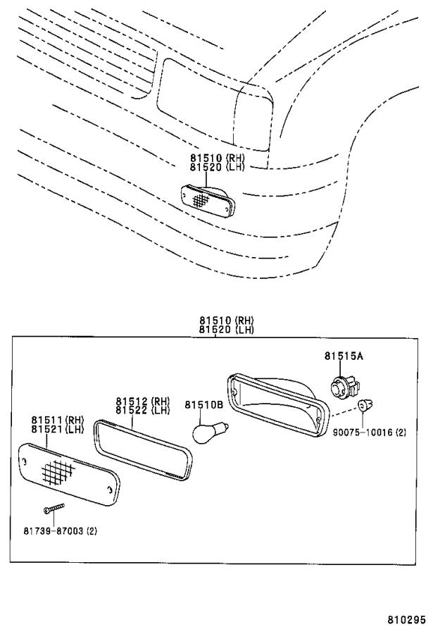 ground wire diagram toyota tacoma