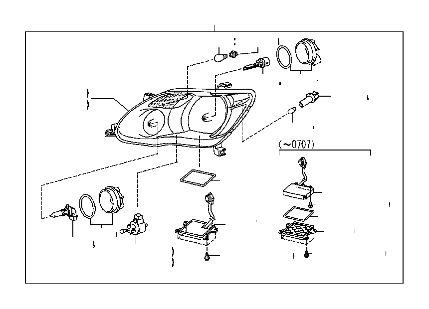 2008 toyota a c wire diagram
