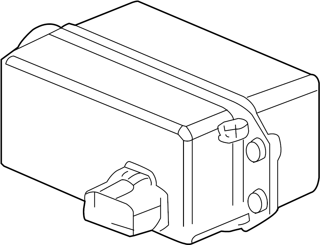 cruise control module distance sensor