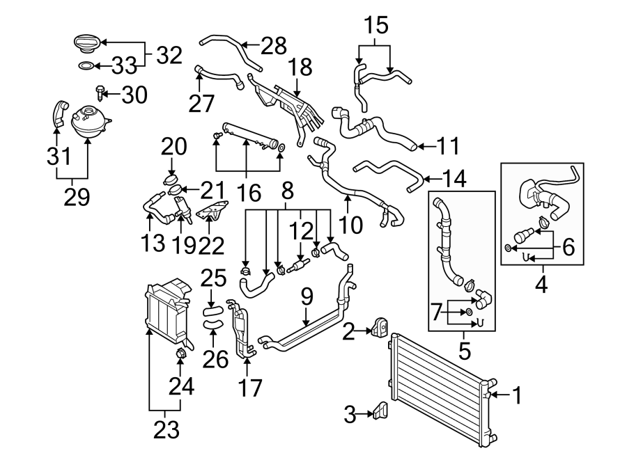 1994 jetta cooling system diagram 2 l engine