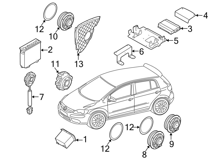 vw cc 2010 Motor diagram