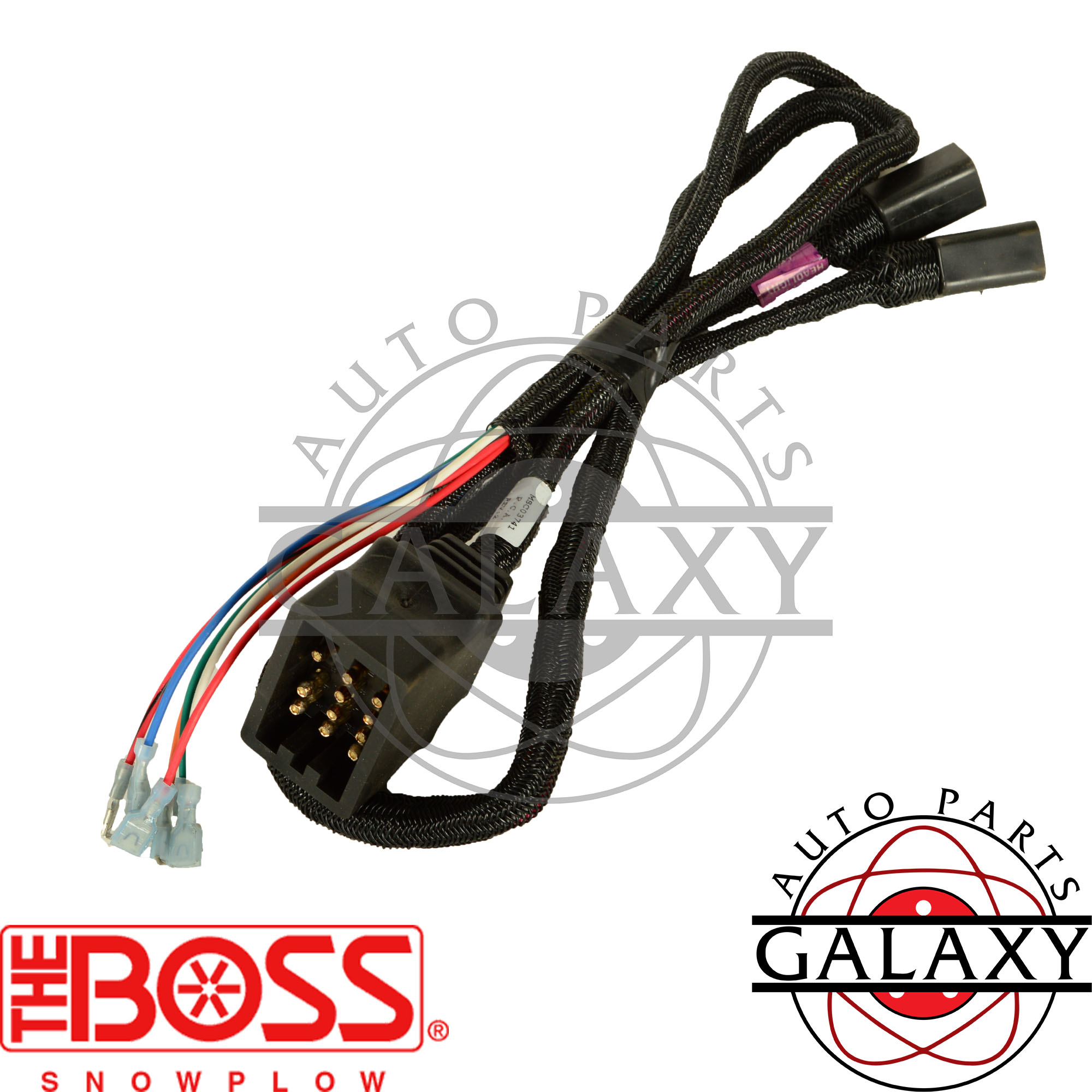 Boss Snow Plow Lights Wiring Harness To Auto Electrical Diagram Snapper Lt160h42cbv2