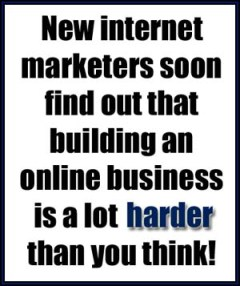 online business is hard