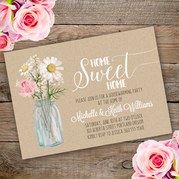 Housewarming Invitation Template - Edit with Adobe ReaderParty