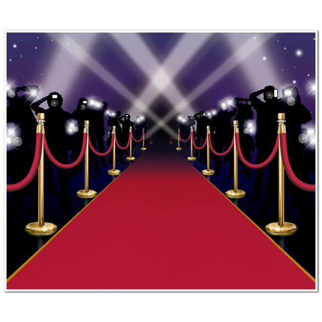 Decoration Murale Poster Red Carpet Insta Wall Mural: Party At Lewis Elegant Party
