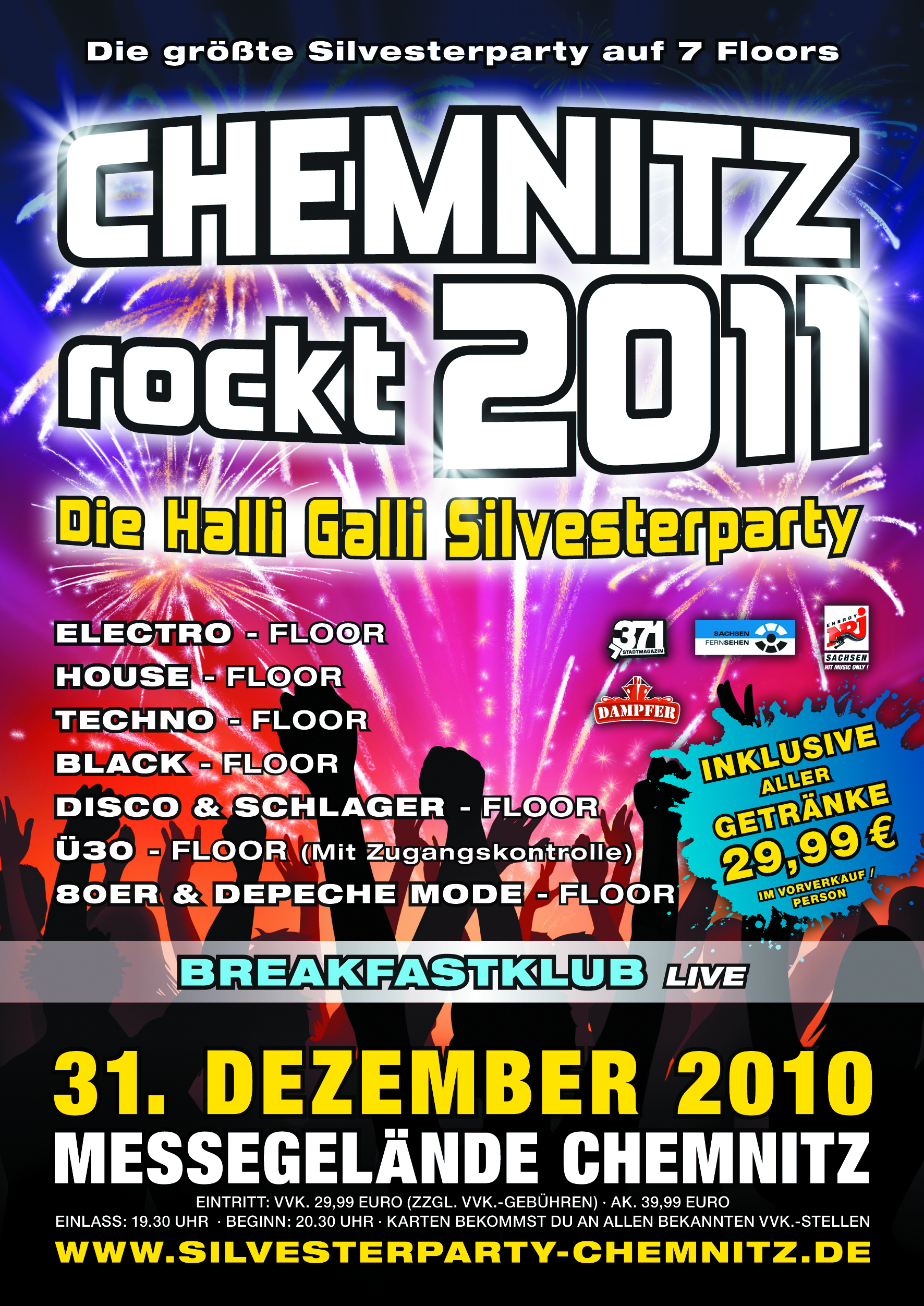 Chemnitz Events Event Silvesterparty Am 2010 12 31 Messe Chemnitz