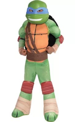 Little Boys Leonardo Muscle Costume Teenage Mutant Ninja