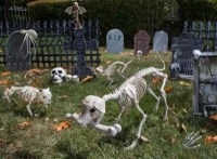 Cemetery Decorating Inspiration - Halloween Party Ideas ...