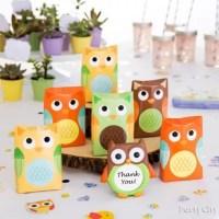 Owl Favor Display Idea - Woodland Baby Shower Ideas - Baby ...