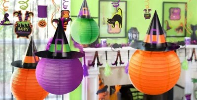 Hanging halloween decorations party city