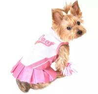 Pink Cheerleader Dog Costume - Party City Canada